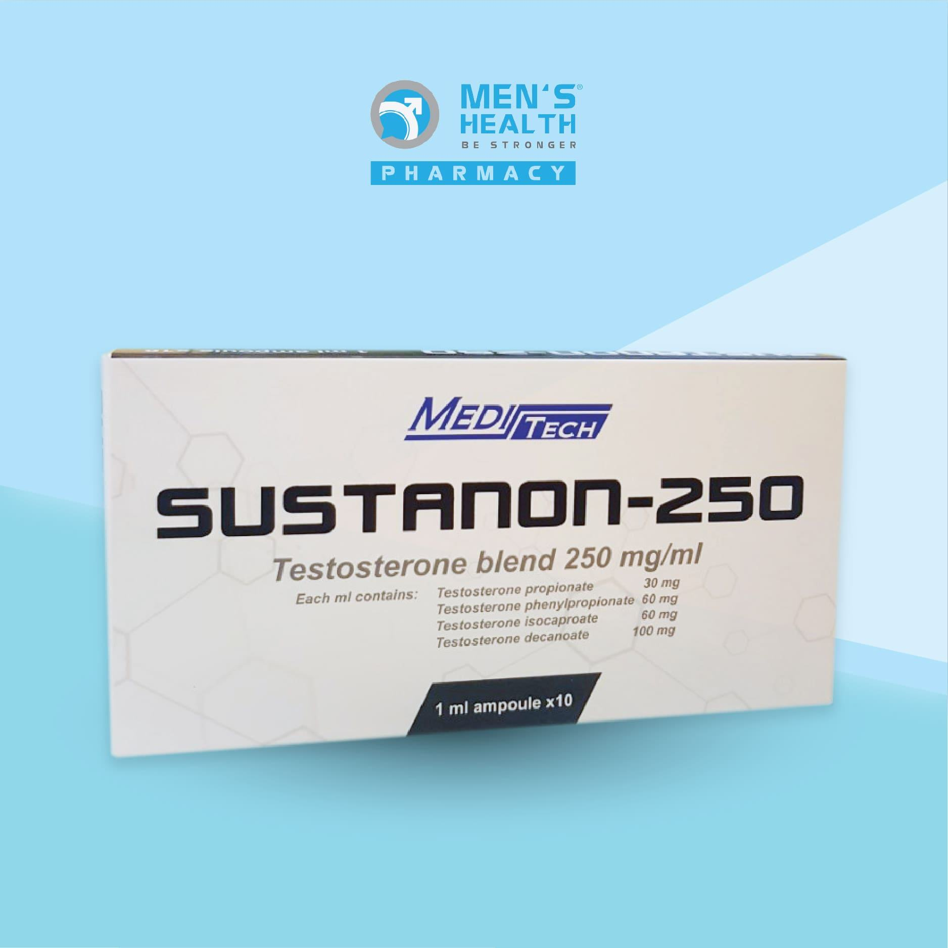 Sustanon 250mg – Dung dịch tiêm testosterone