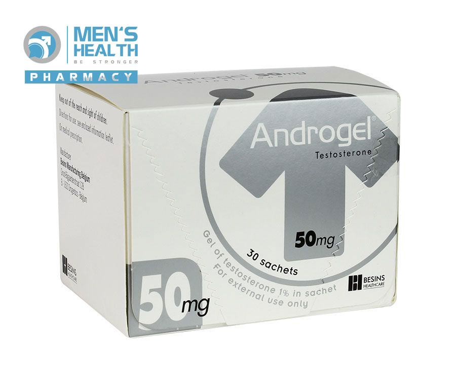 ANDROGEL 50MG – TESTOSTERONE