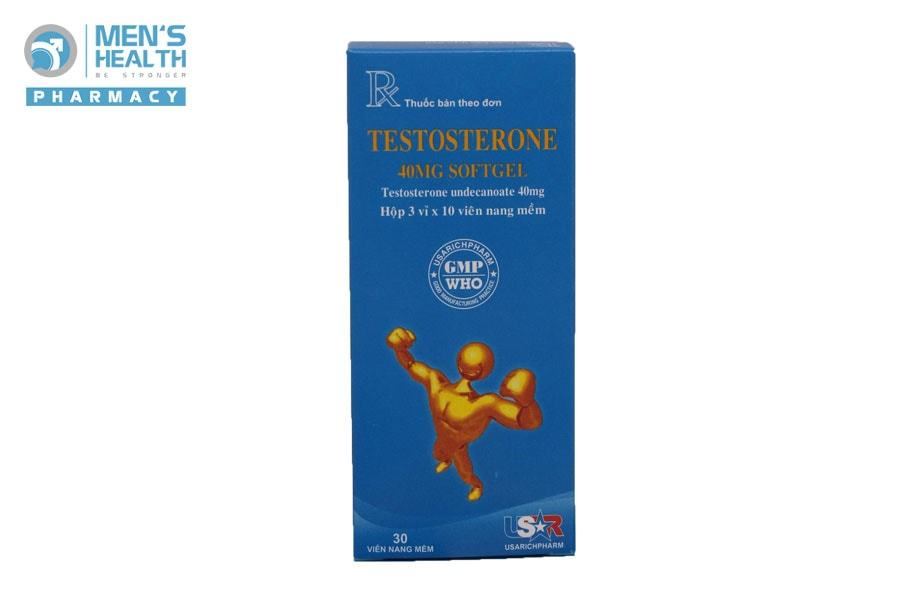 TESTOSTERONE 40MG SOFTGEL