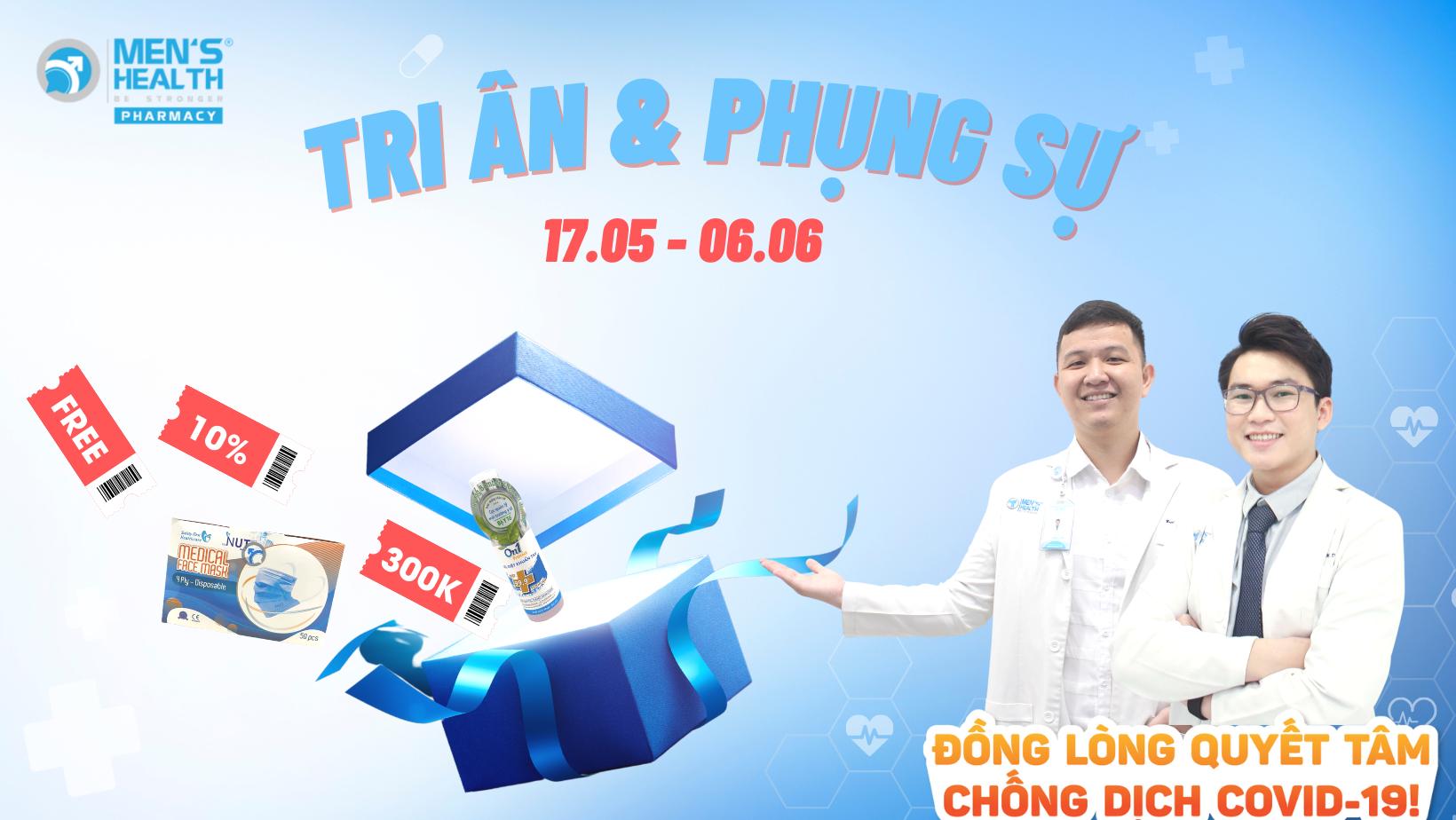 Chương trình TRI ÂN & PHỤNG SỰ phái mạnh Việt